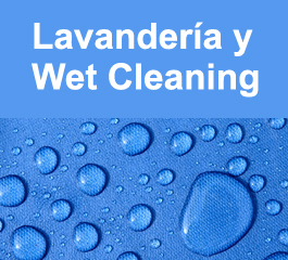 LAVADO EN AGUA Y WET CLEANING
